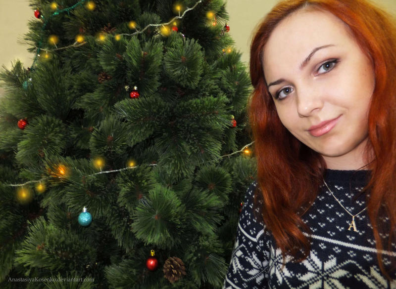 Amy Pond cosplay - Christmas special by AnastasiyaKosenko