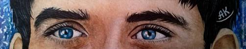 Merlin - Merlin's eyes by AnastasiyaKosenko