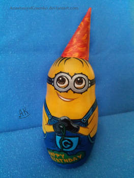 Despicable Me - Birthday minion nesting doll