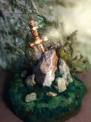 Merlin - Excalibur by AnastasiyaKosenko