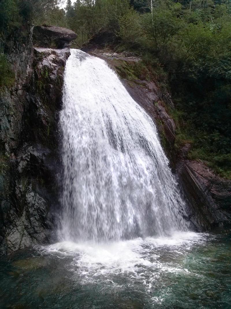 Korbu waterfall by AnastasiyaKosenko