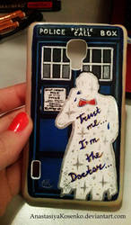 Doctor Who - TARDIS phone case