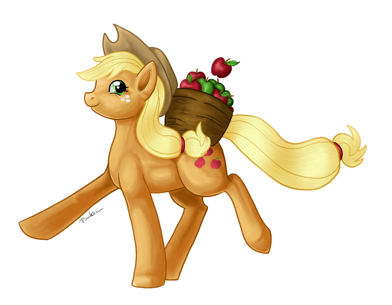 Applejack by Trunksi
