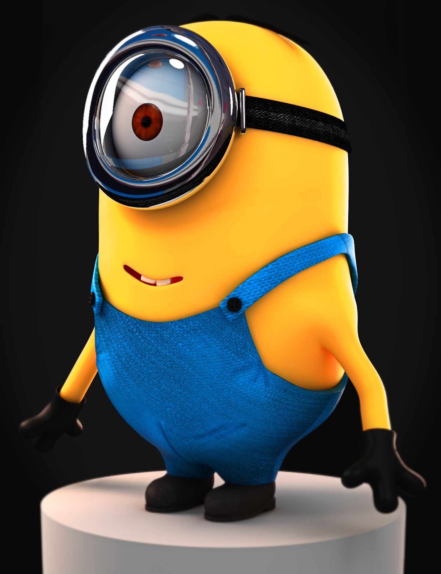 Minion Despicable Me 2010 3D By MrAnimator93 On DeviantArt