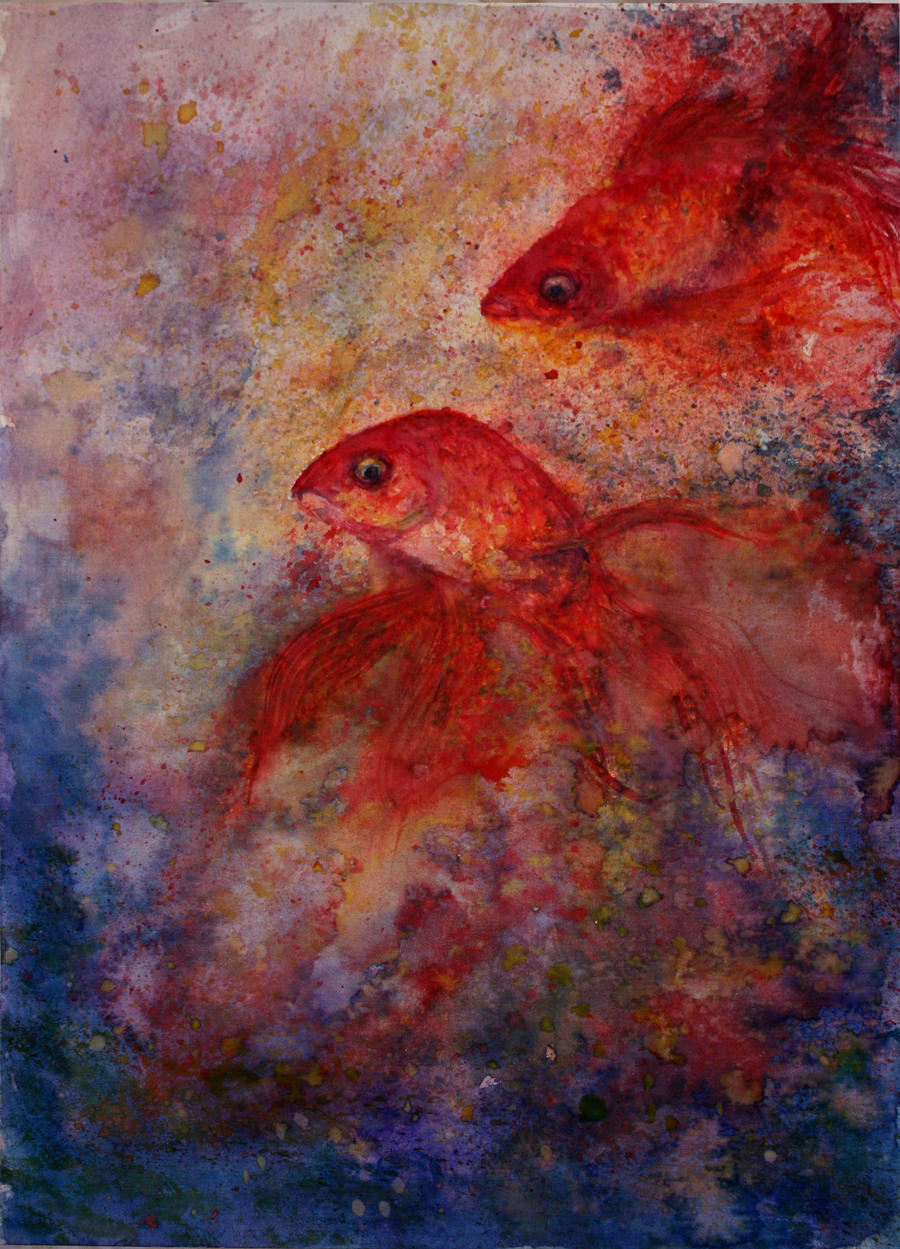 goldfish by MoreMari