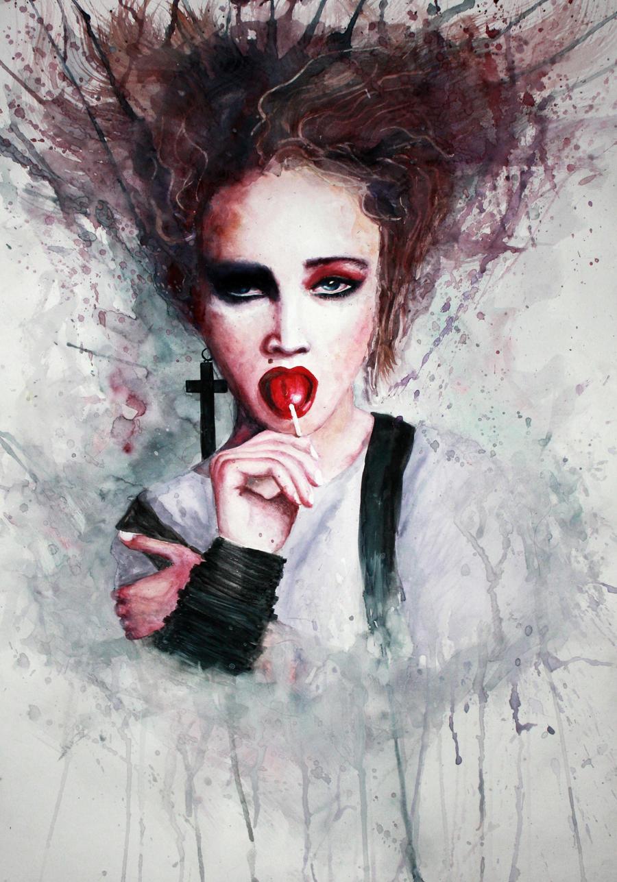 Madonna by MoreMari