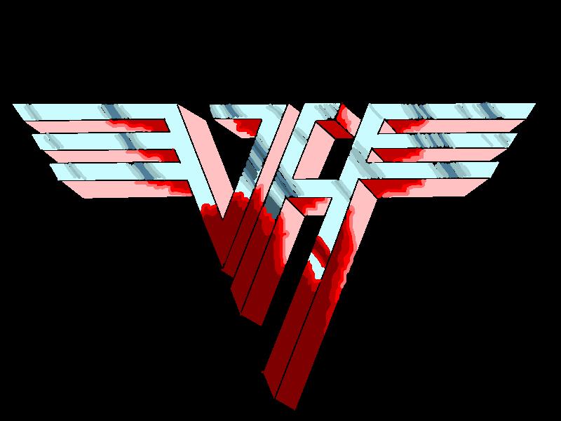 Van Halen Logo Sketch By Michelleknight