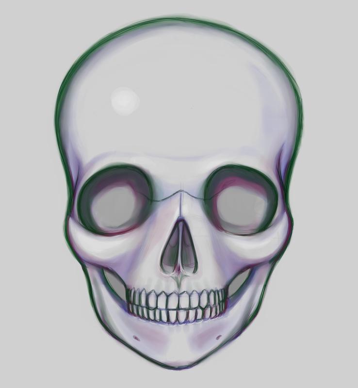 Skull Anime Auto Design Tech
