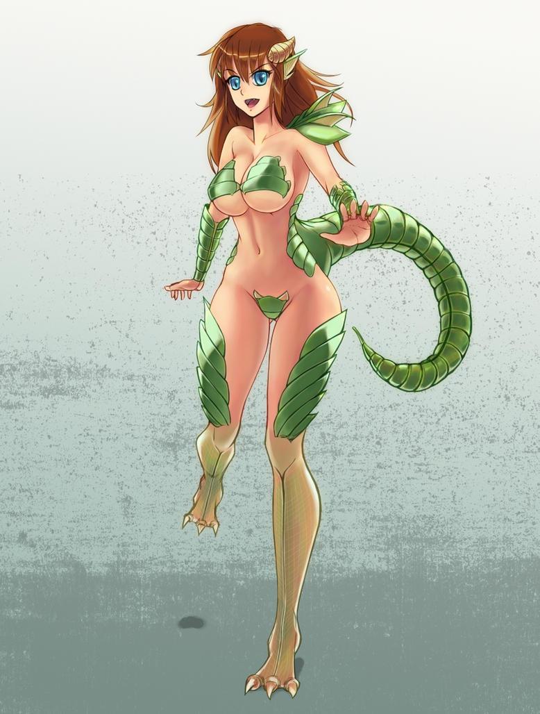 Anime dragon girl nude download