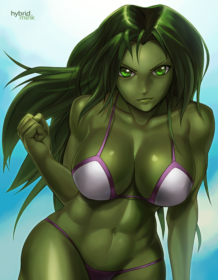 She-Hulk by hybridmink