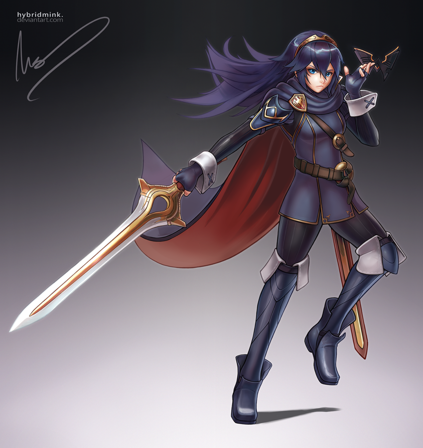 Lucina by hybridmink on DeviantArt