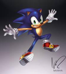 Sonic by hybridmink