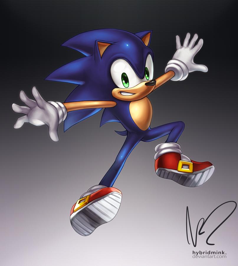 Sonic By Hybridmink On Deviantart