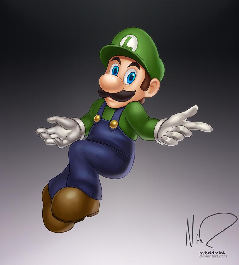 Luigi by hybridmink