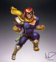 Captain Falcon by hybridmink