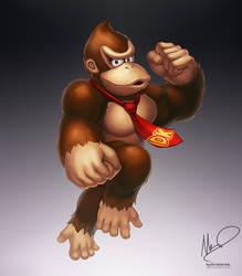Donkey Kong by hybridmink