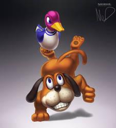 Duck Hunt by hybridmink