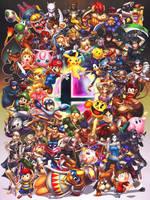 Smash Brothers by hybridmink