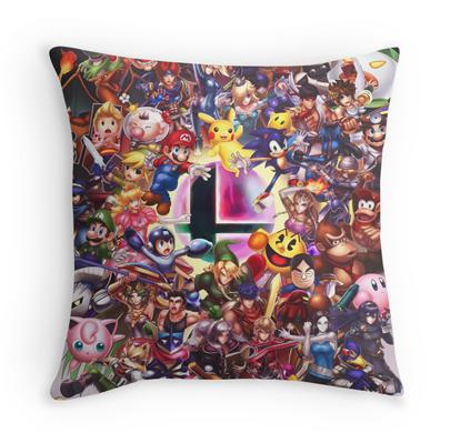 Smash Pillow by hybridmink