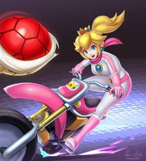 Biker Peach