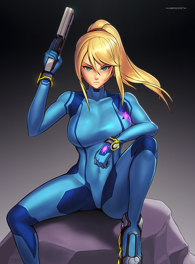 Zero Suit Samus (Ultimate) by hybridmink