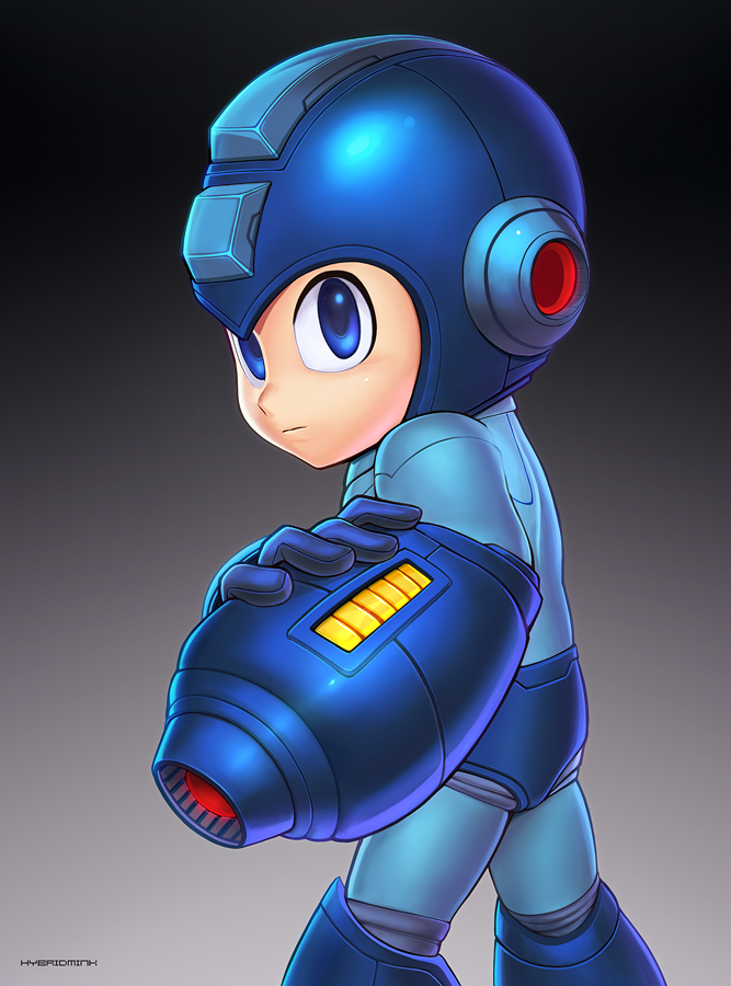 Mega Man (Ultimate) by hybridmink