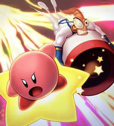 Kirby and Earthworm Jim