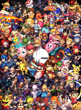 Super Smash Bros. (Ultimate) by hybridmink