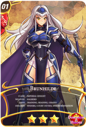 Dominion of Heroes: 01Brunhilde*** by hybridmink