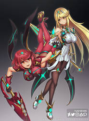 Pyra and Mythra (Ultimate)