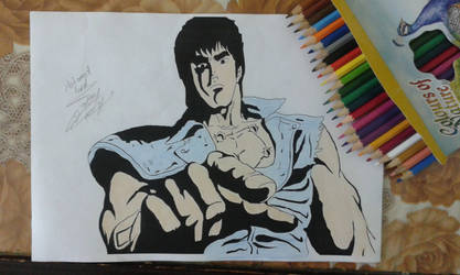 kenshiro from hoktuo no ken by MohAMeDLoRD