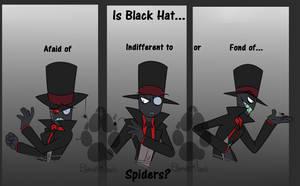Villainous: Black Hat, Spiders? by PotatoBug-May