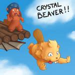 CRYSTAL BEAVER!! by lolomalon