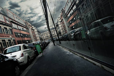 Cross street by photoctet