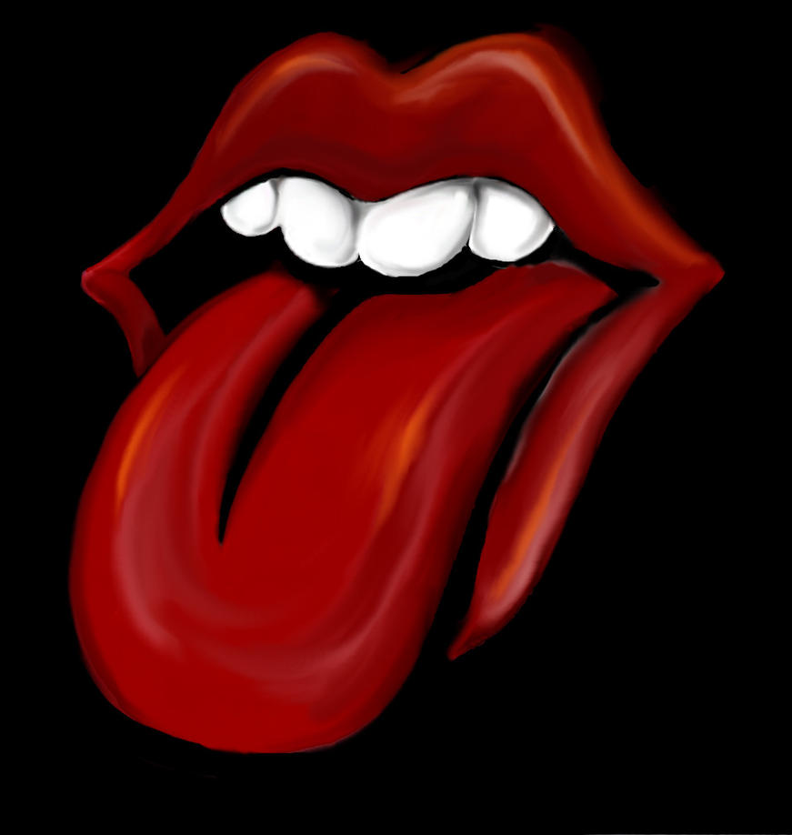 Rolling Stones By Akerbeltz The Tongue Wallpaper
