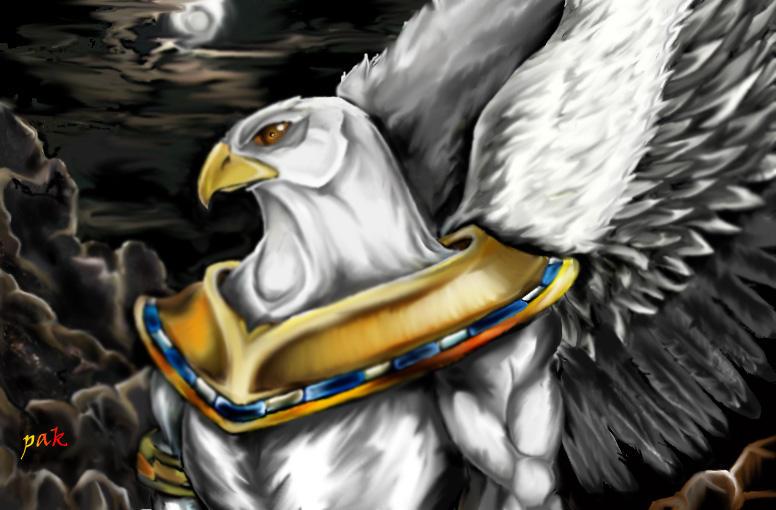 Amon Ra by akerbeltz