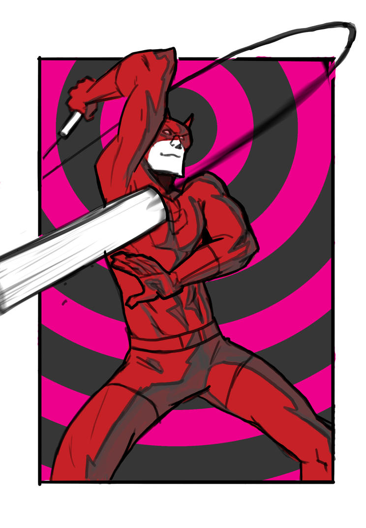 Daredevil take 2 by Tannerama
