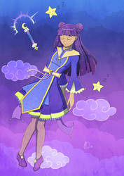 Magical Girl Sweet Dream by ScarabDynasty1