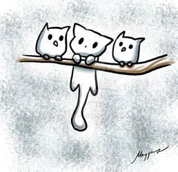 Meow Hoot Hoot