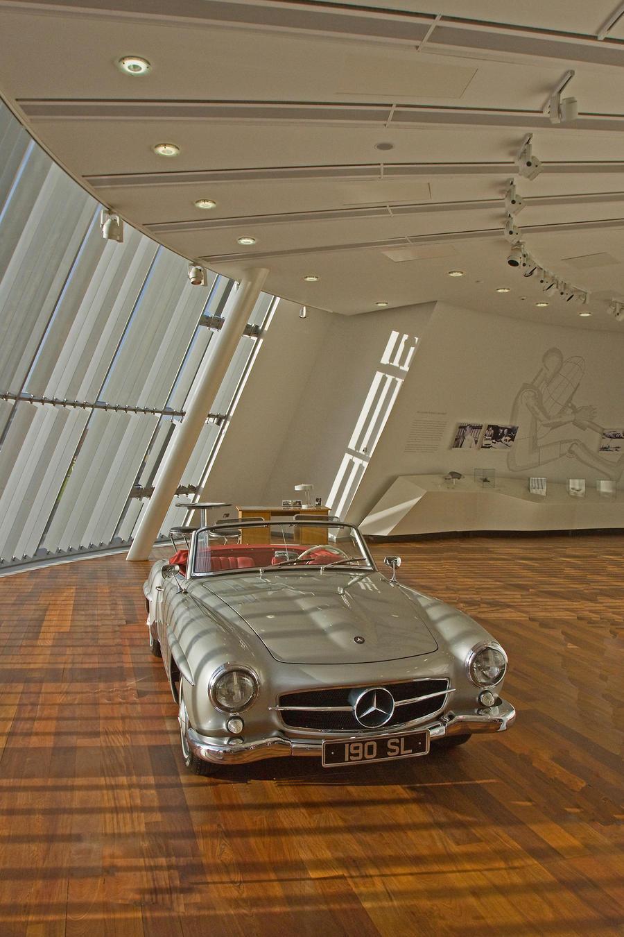 M. Burroughs's Rusty BMW.