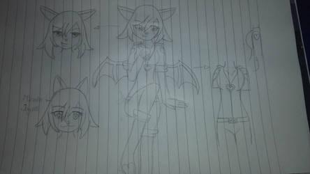 Rouge the Bat human form