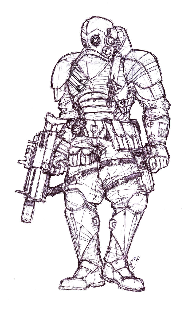 Black Ops Commando by Phoenixangel924