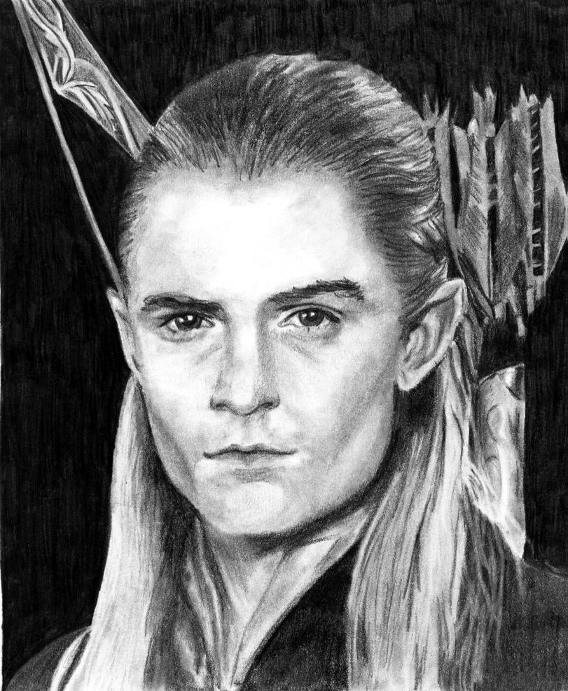 Legolas Wallpaper: Legolas Greenleaf Portrait By Koko-kaipo On DeviantArt