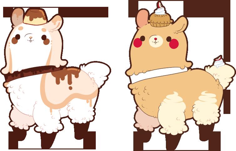 how to draw a kawaii llama