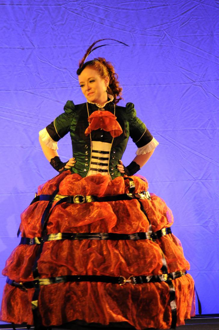 Steampunk Beetle Dress by AuroraCeleste