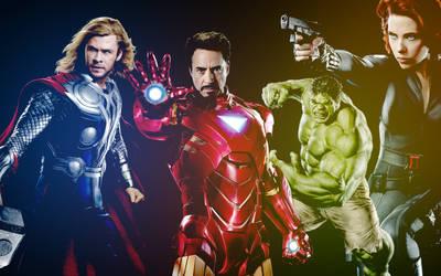 The Avengers by kwiku001