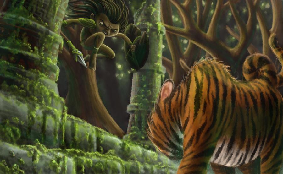 mowgli by jujorere