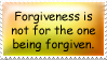 Forgiveness is for your own sanity. by Visessentia