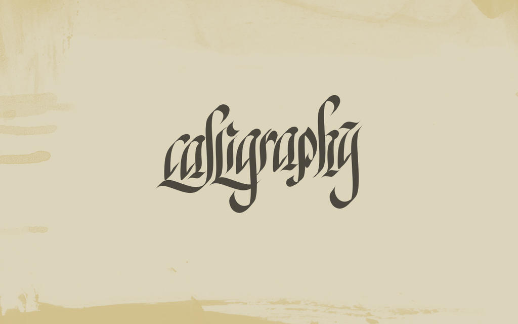 Calligraphy by gklpdesign