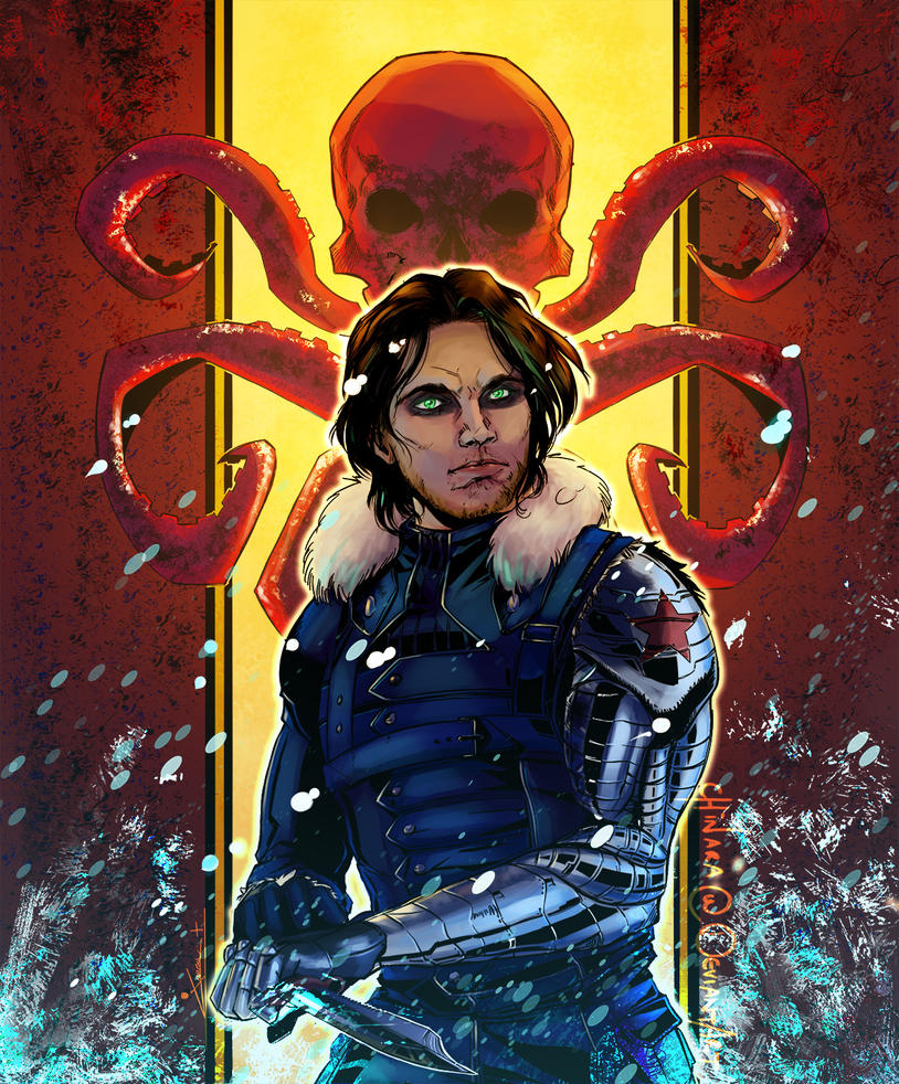 Collab - The Winter Soldier by chinara